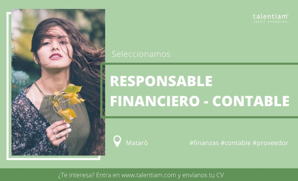 oportunidad profesional Responsable financiero contable