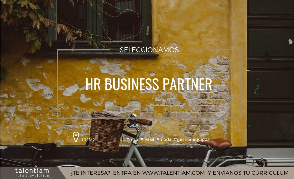 Oferta de empleo HR Business Partner