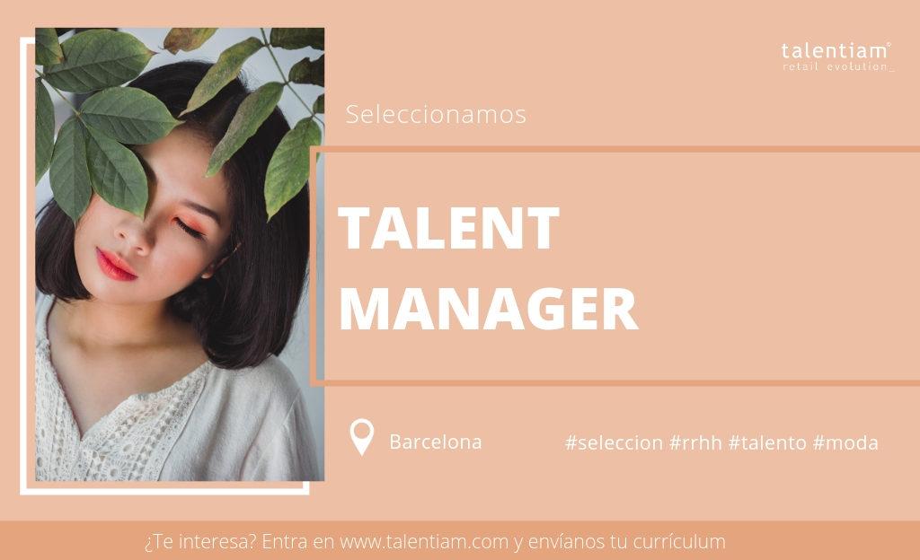 oferta de empleo talent manager