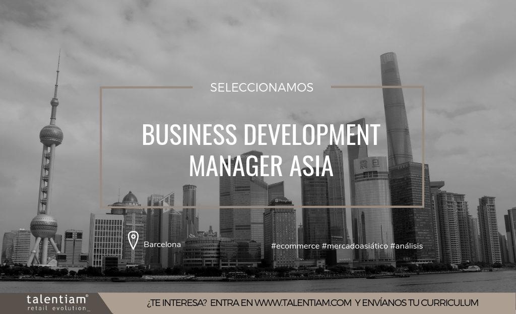 puesto de business development manager asia