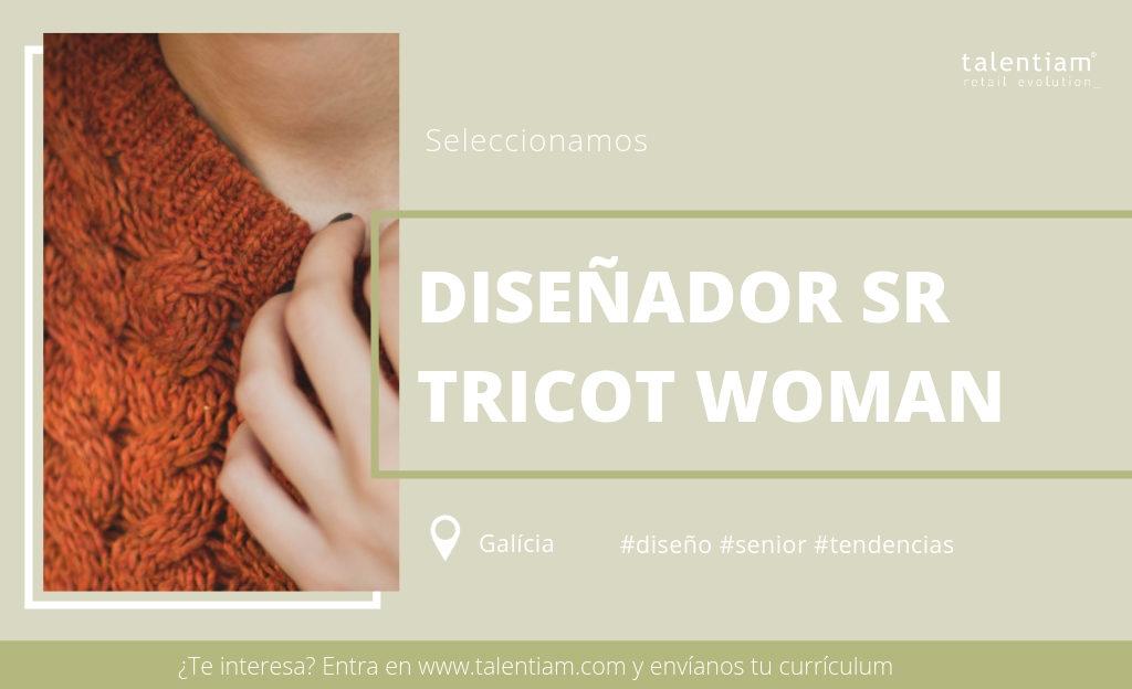 oferta de empleo diseñador tricot