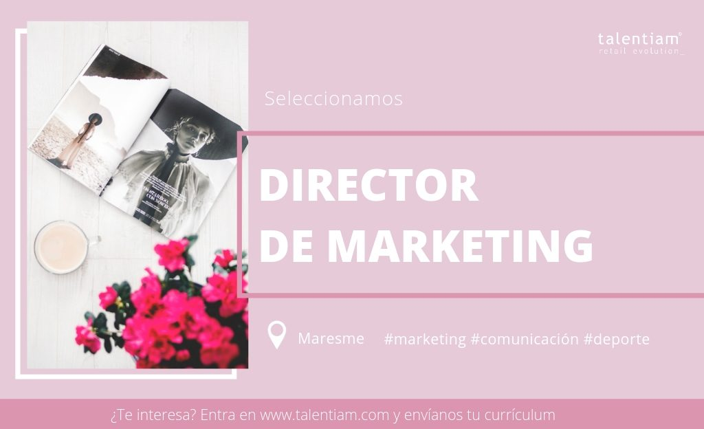 posición director de marketing