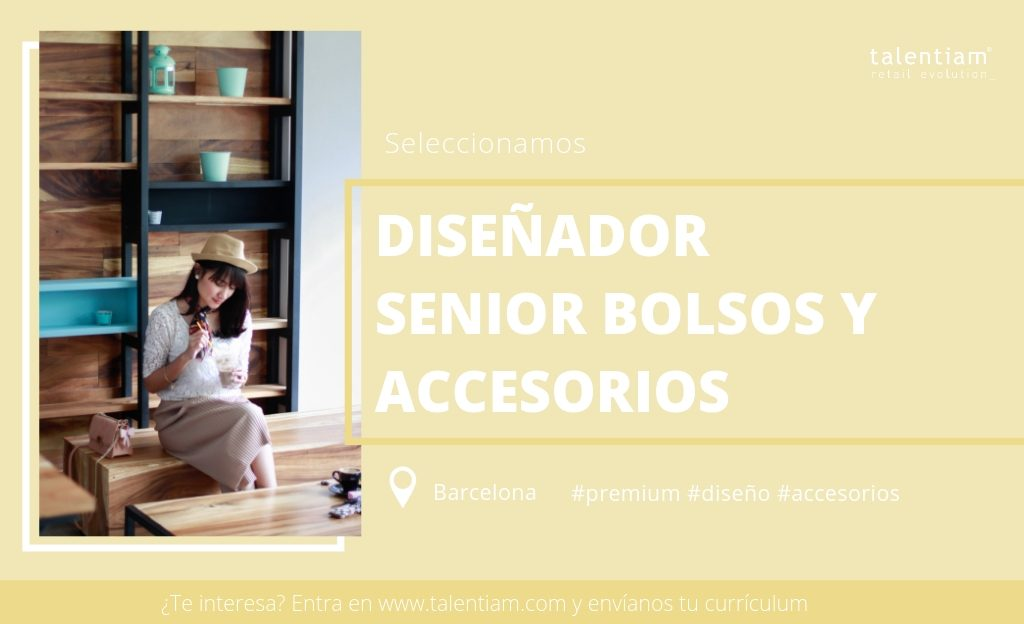oferta de empleo diseñador senior bolsos