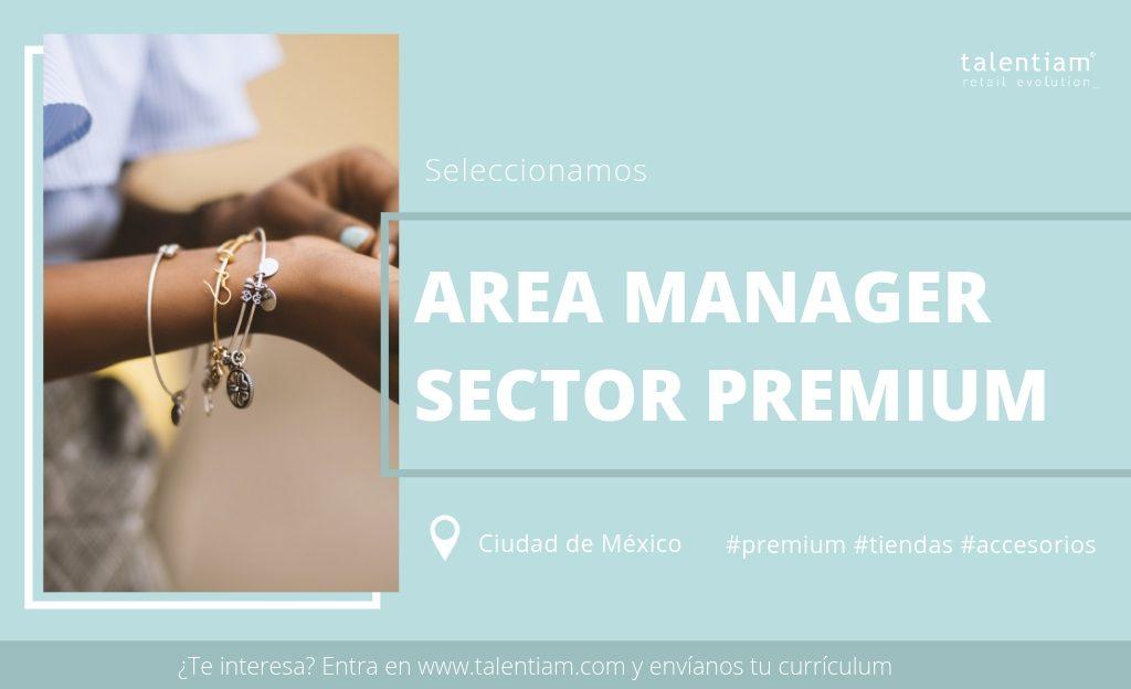 puesto area manager mexico