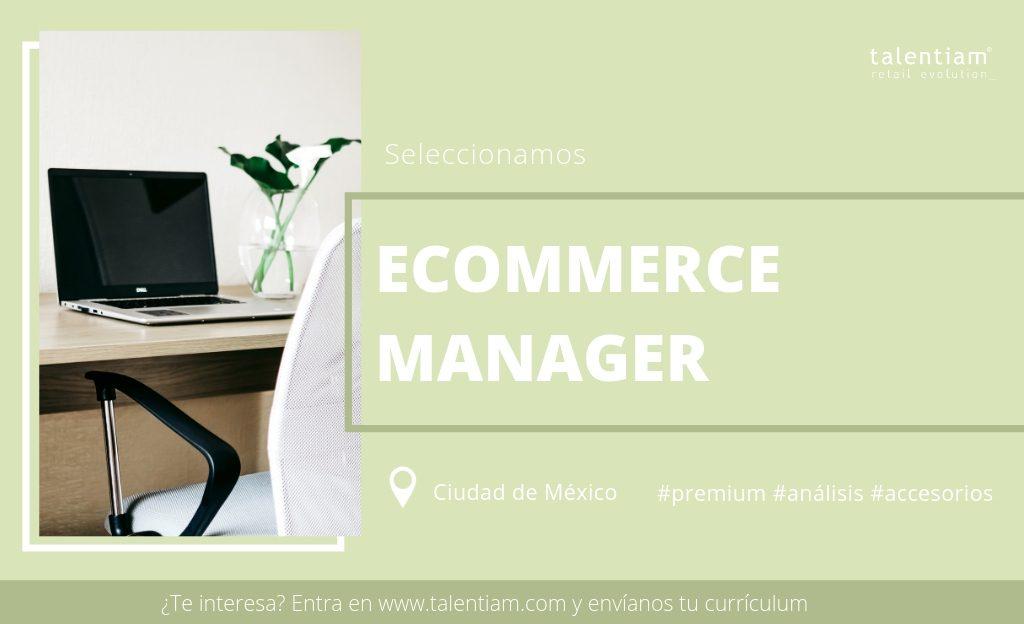 Posición Ecommerce Manager Mexico