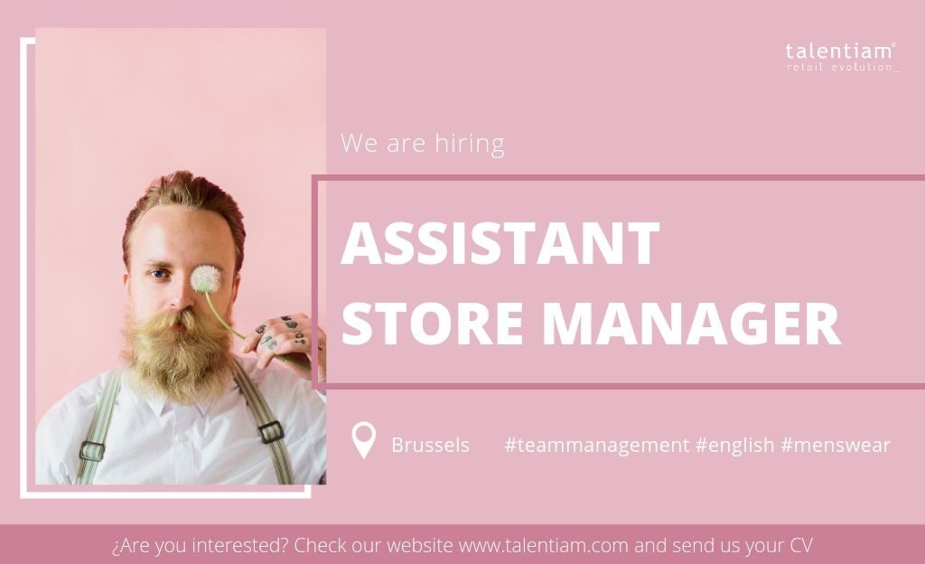 job opportunity assistant store manager