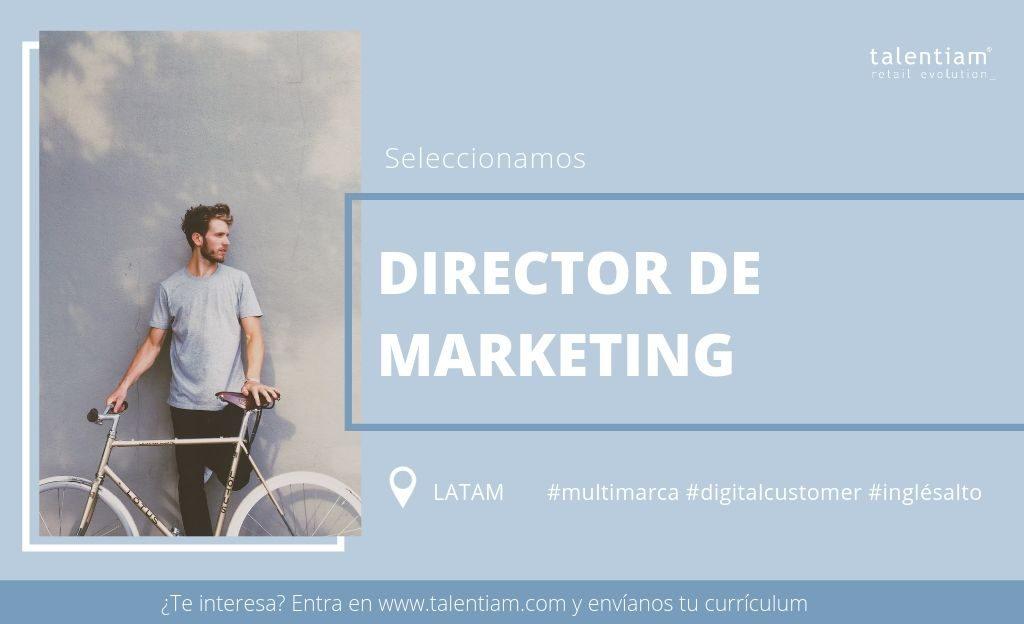 oportunidad profesional director de marketing latam