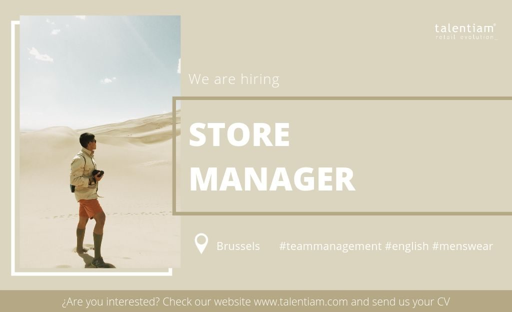 new opportunity store manager