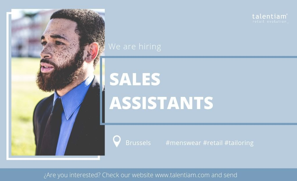 job opportunity sales assistant Brussels