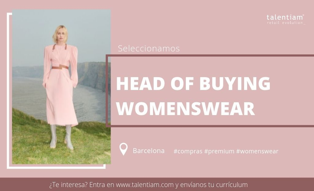 oportunidad profesional head of buying womenswear Barcelona