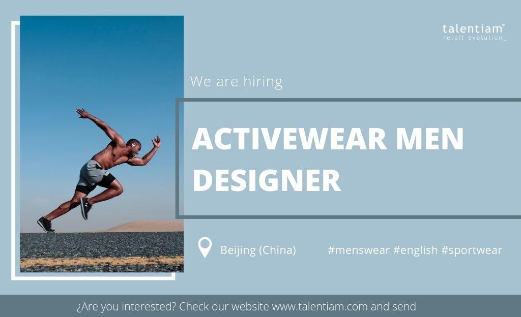activewear men designer Beijing (China)