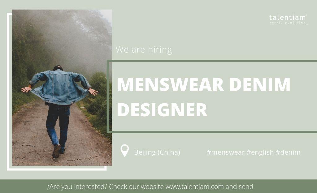 menswear denim designer Beijing (China)