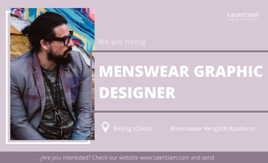 menswear graphic designer Beijing (China)