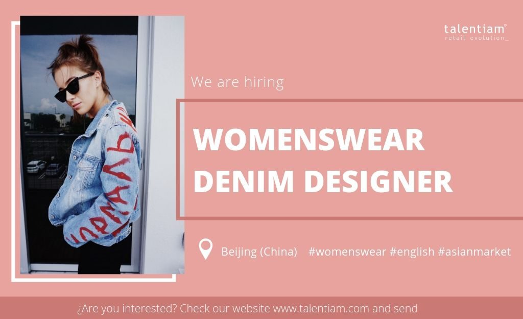 womenswear denim designer Beijing (China)