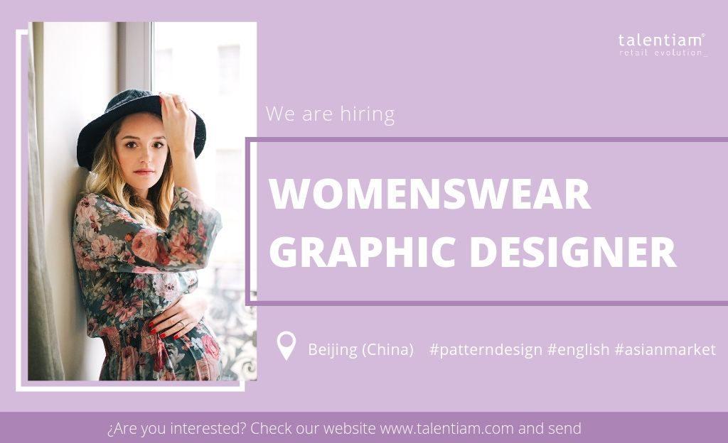 womenswear graphic designer Beijing (China)