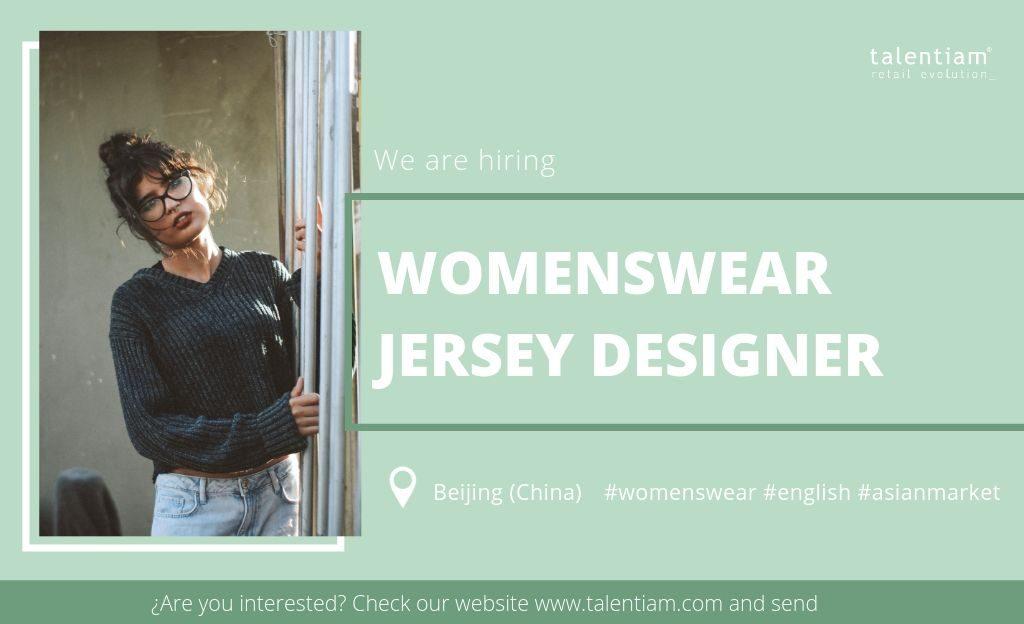 womenswear jersey designer Beijing (China)