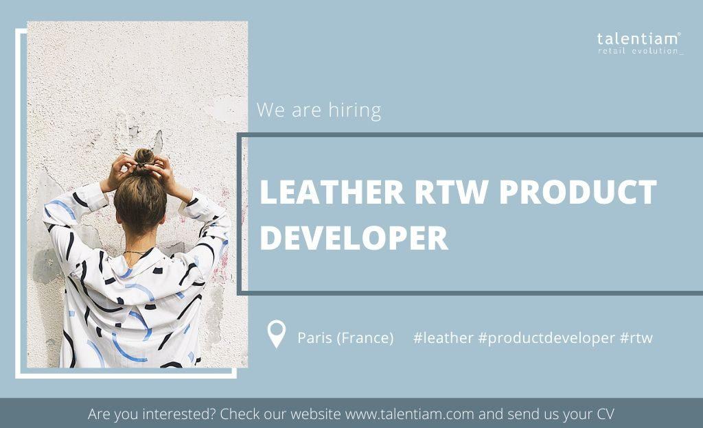 leather RTW product developer